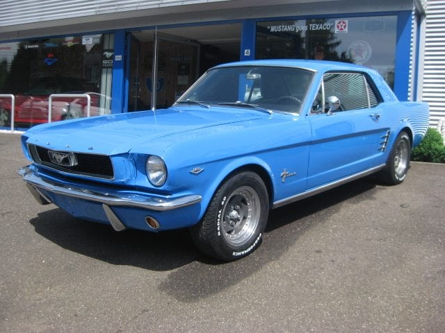 1966 Ford Mustang Coupe 659 The Mustang Garage