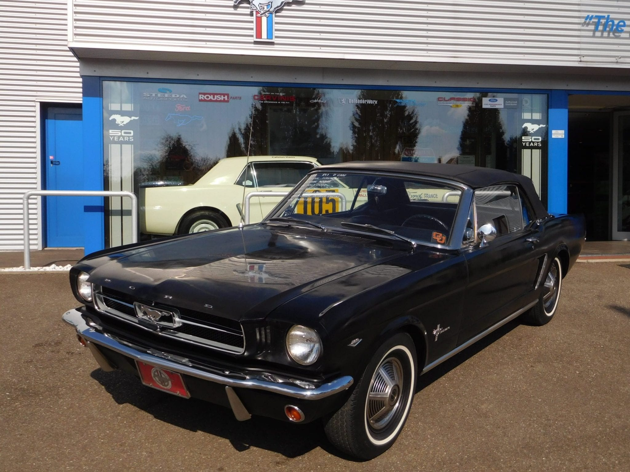 Ford Mustang 1964 Convertible 698 The Garage Paint Colors